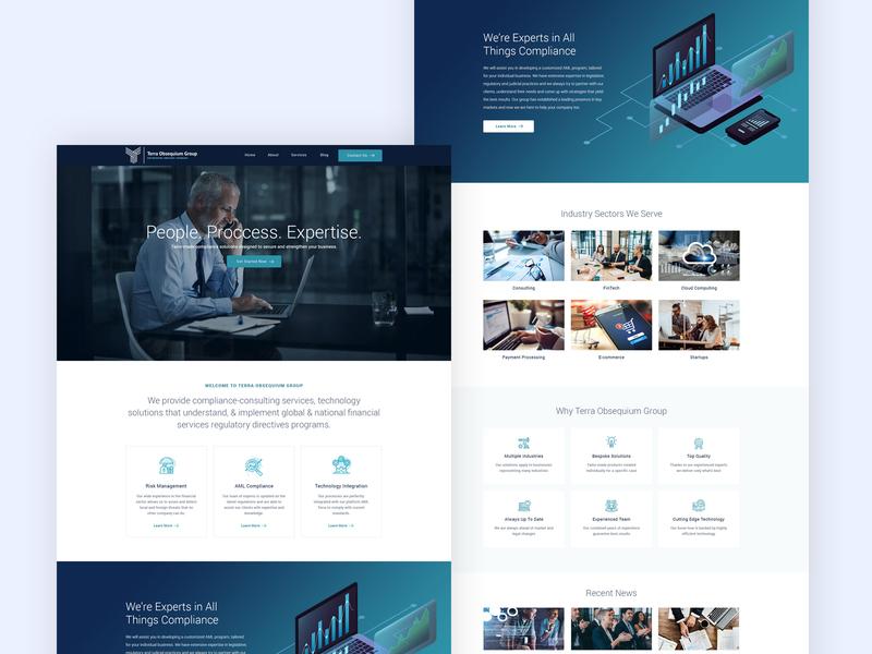 Online Security Company Website
