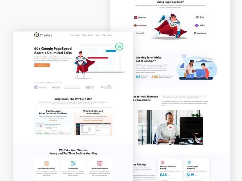 Wordpress Service Website