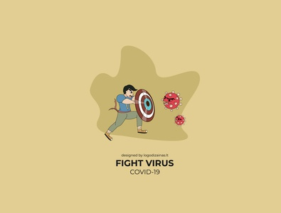 Fight virus poster