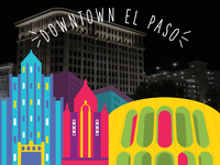 Snapchat Geofilter for Downtown El Paso, TX