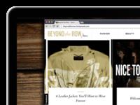 Beyond the Row.com  /Beta