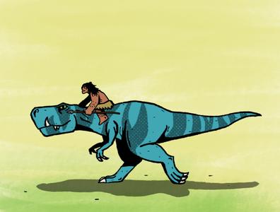 PRIMAL fan art caveman dinosaur cartoon tvseries primal