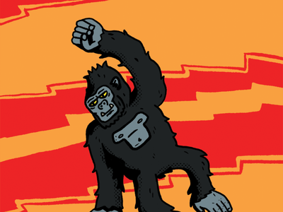 kong kaiju illustration fan art movie king kong