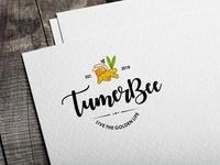 Logo design for tumeric and honey product