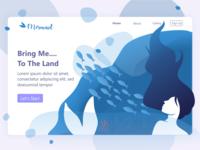 Landing Page mermaid