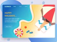 Landing Page holidays