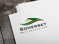 Somerset logo design