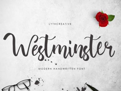 Westminster Font typography font design font awesome brush calligraphy brush font font