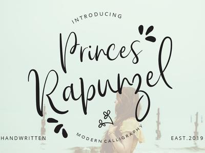 Prices Rapuncel font art typography graphic design logo branding calligraphy handwriting handwritten font design font