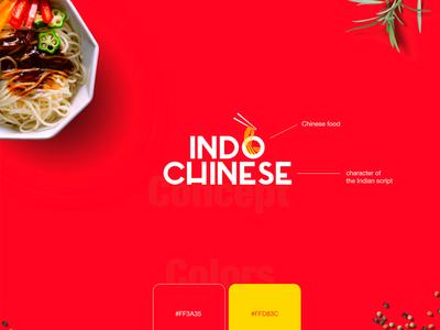 INDO CHINESE- Restaurant Brand identity