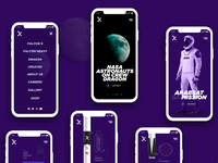 SPACE X - Mobile responsive