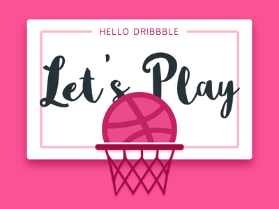 Hello Dribbble! let's Play!!