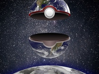 Pokeball Solar System (Earth)