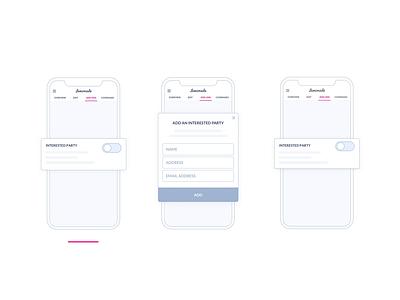 Lemonade App | Live Policy steps onboarding interface lemonade prototypes interaction app animation animation insurance flow app