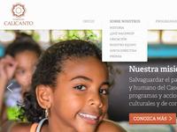 Fundación Calicanto - Homepage