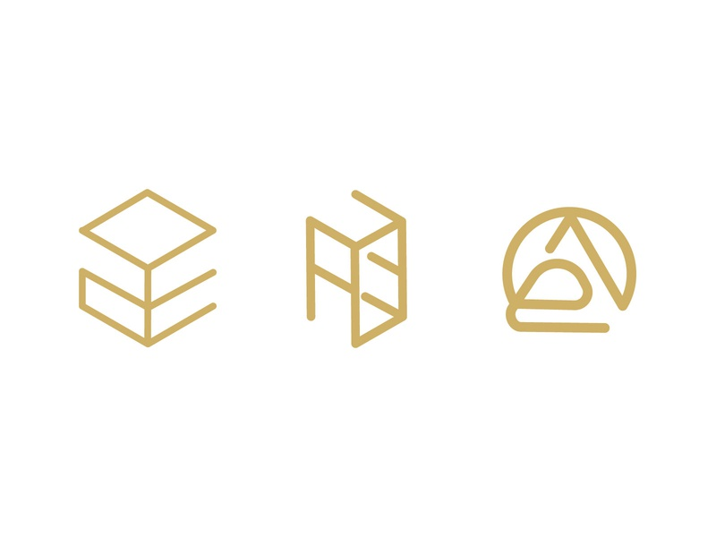 aoe minimal branding flat vector identity icon graphic brand ux design