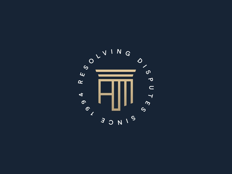 aoe 3 branding flat logo ui identity icon brand attorney law