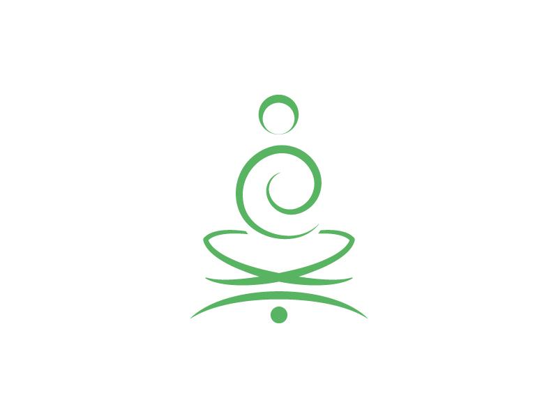 Yoga Arc illustrator identity matching brilliant yoga type typography compound letters icon brand logo