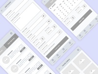 FREE wireframe UX kits for mobile