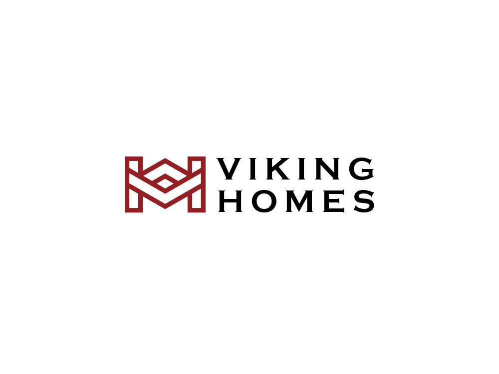 Viking Home viking logo website home logo illustration flat brilliant design vector branding brand logo identity icon
