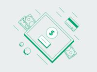 Illustrations for billing options