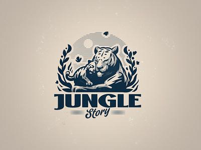 Jungle Story babytiger story jungle tiger