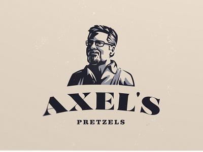 Axel's Pretzels pretzels logo