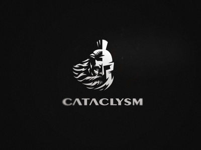 Logo for Cataclysm helmet spartan logo