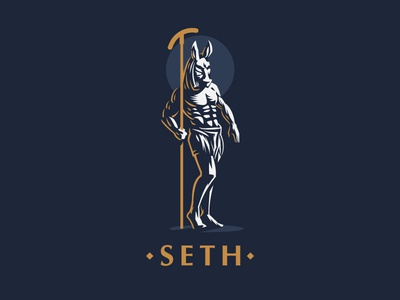☥ Egyptian god Seth. seth god egyptian