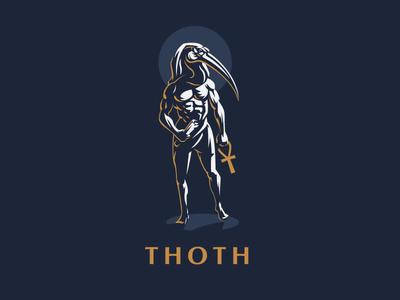 ☥ Egyptian God Thoth.