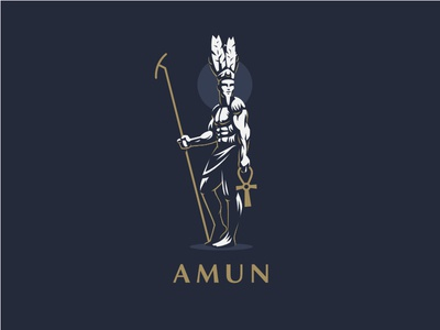 ☥ Egyptian God Amun.