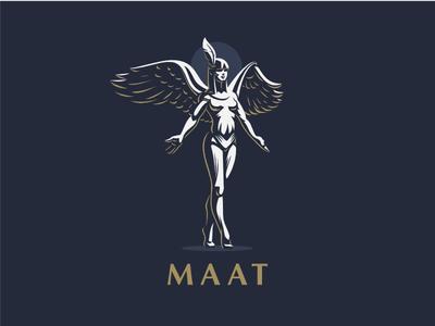 ☥ Egyptian Goddess Maat.