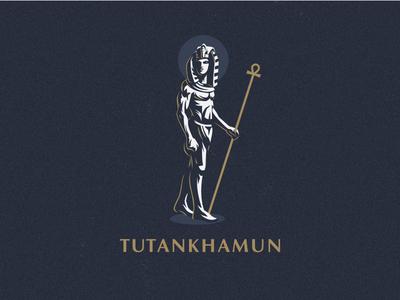 ☥ Egyptian pharaoh Tutakhamun.