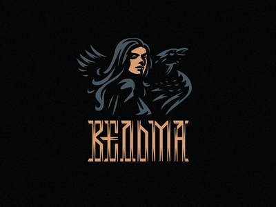 Ведьма. Witch. ворон ведьма woman raven witch