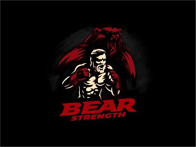 Strength of Bear strenth bear fight mma