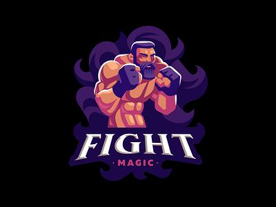 Fight magic sport man fighter mma magic fight