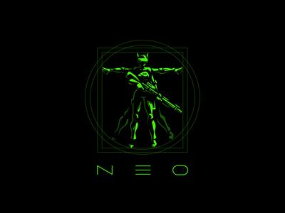 NEO LOGO. Cyberclub