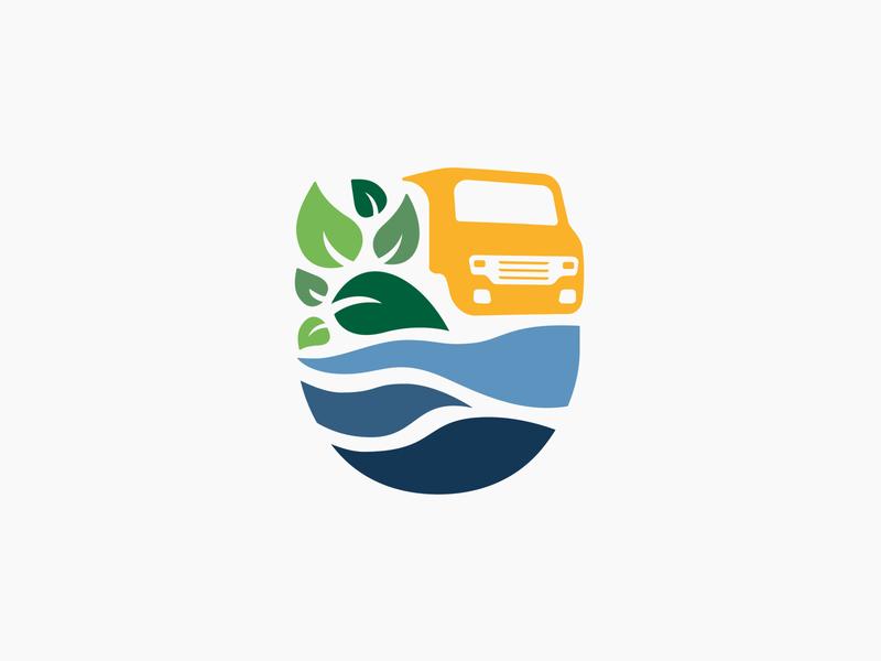 Departamento de Ambiente web app color graphic design icon handmade illustration branding logo design