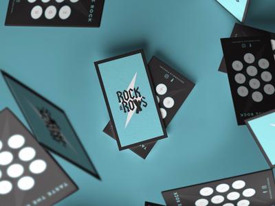 Rock n' Rolls branding icon graphic design logo design print