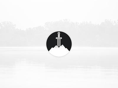 Avalon Logo primeng primefaces king arthur celtic myth sword avalon logo icon branding