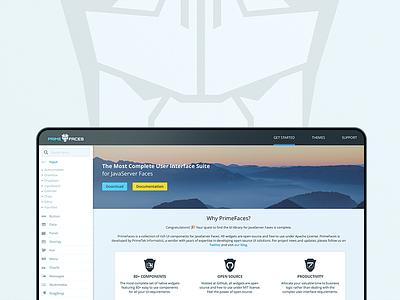 PrimeFaces Showcase Facelift framework library user interface ui suite jsp java open source showcase primefaces