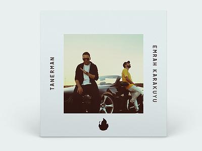 Yangınlar 🔥 Single Cover art album emrah karakuyu tanerman turkish hip hop rap music cover single yangınlar