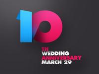 10th wedding anniversary