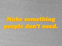 """""""Make Something"""" T-Shirt Design"""