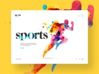 Sports Website Concept