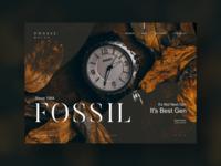 FOSSIL : E-commerce Design