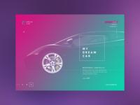 Dream Car : Automobiles Company Website Design
