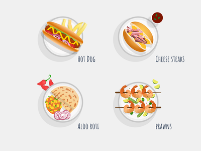 Cuisine Icons food and drink app icons food delivery food app food menu icons visual design iconset icons design flat vector illustration