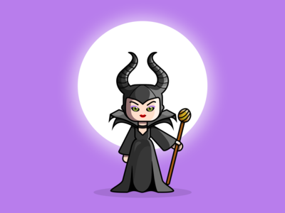 Maleficent - Character illustration