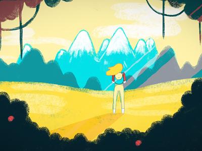 Animation Still adventure animation illustration